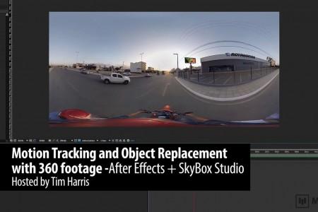 Motion Tracking and Object Replacement with 360 Footage | After Effects | SkyBox Studio