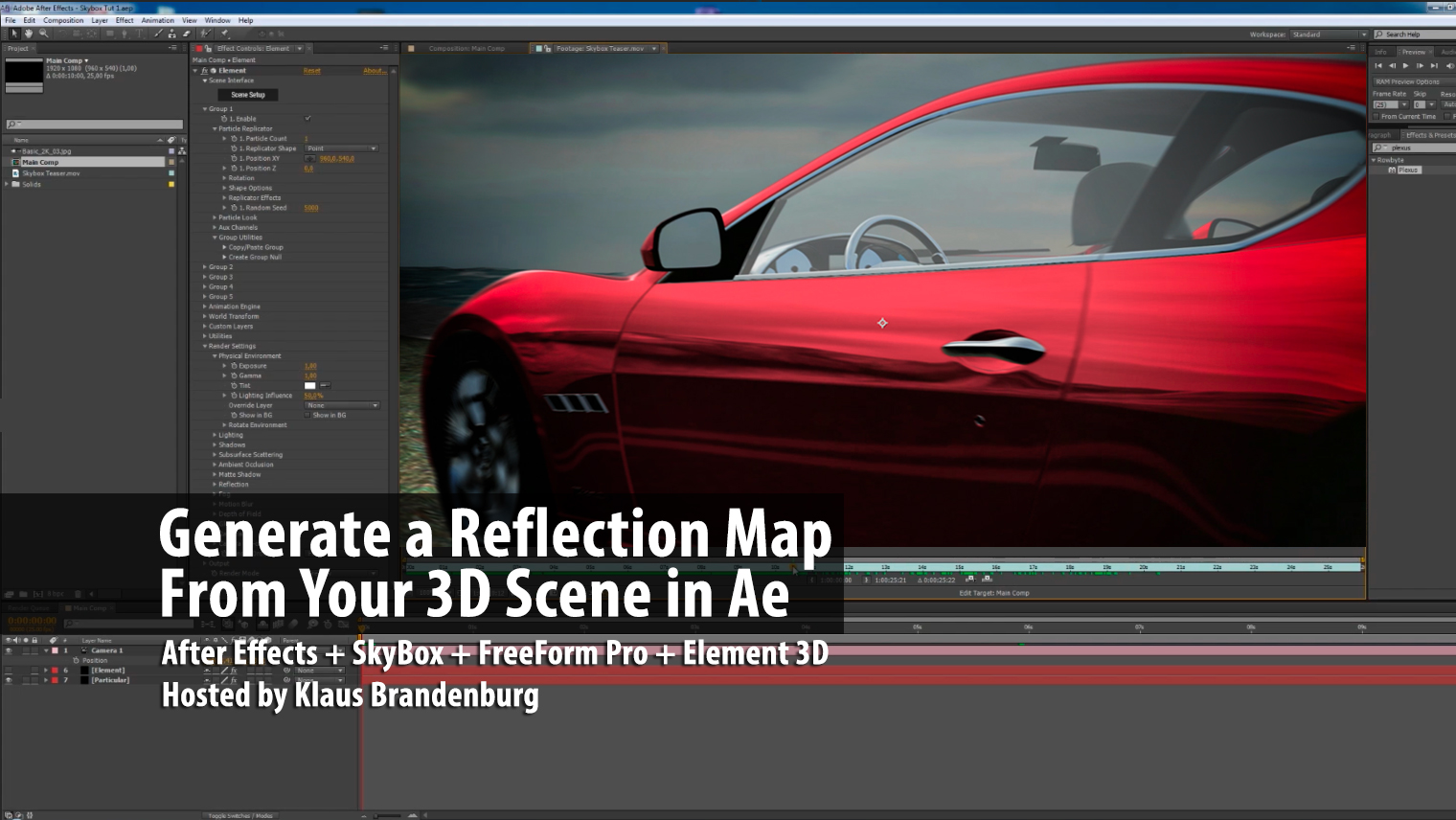 Reflect-Your-3D-Scene