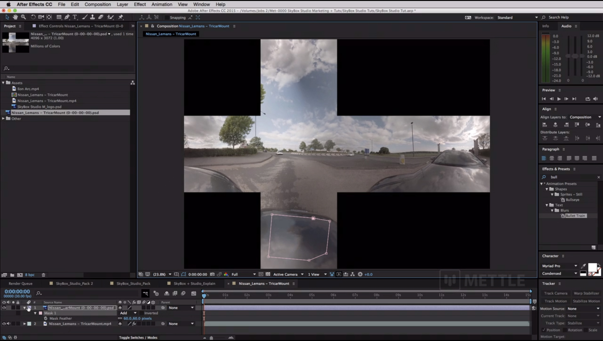mettle SkyBox Studio Rig Removed