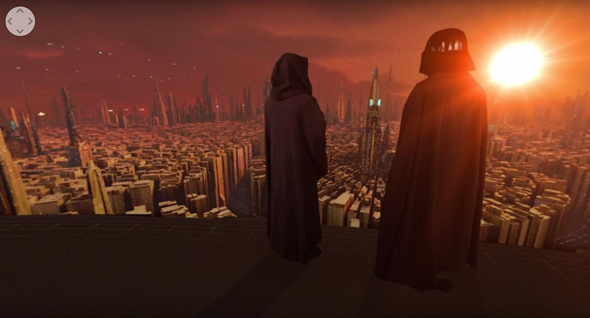 Darth Vader Star Wars 360