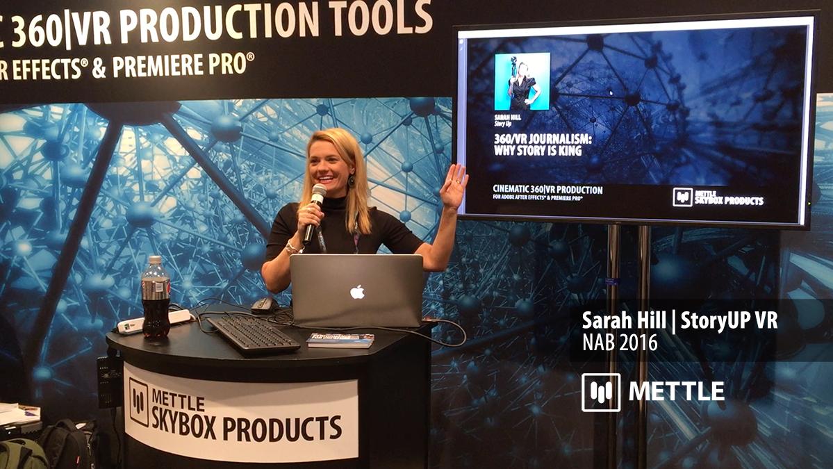Sarah HIll StoryUP VR