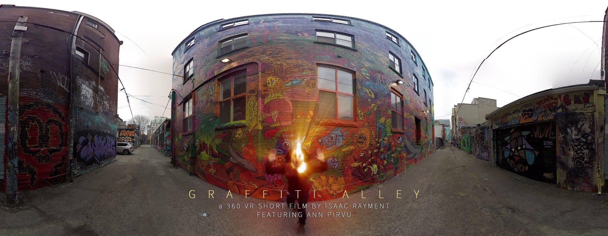 Graffiti Alley Equirectangular