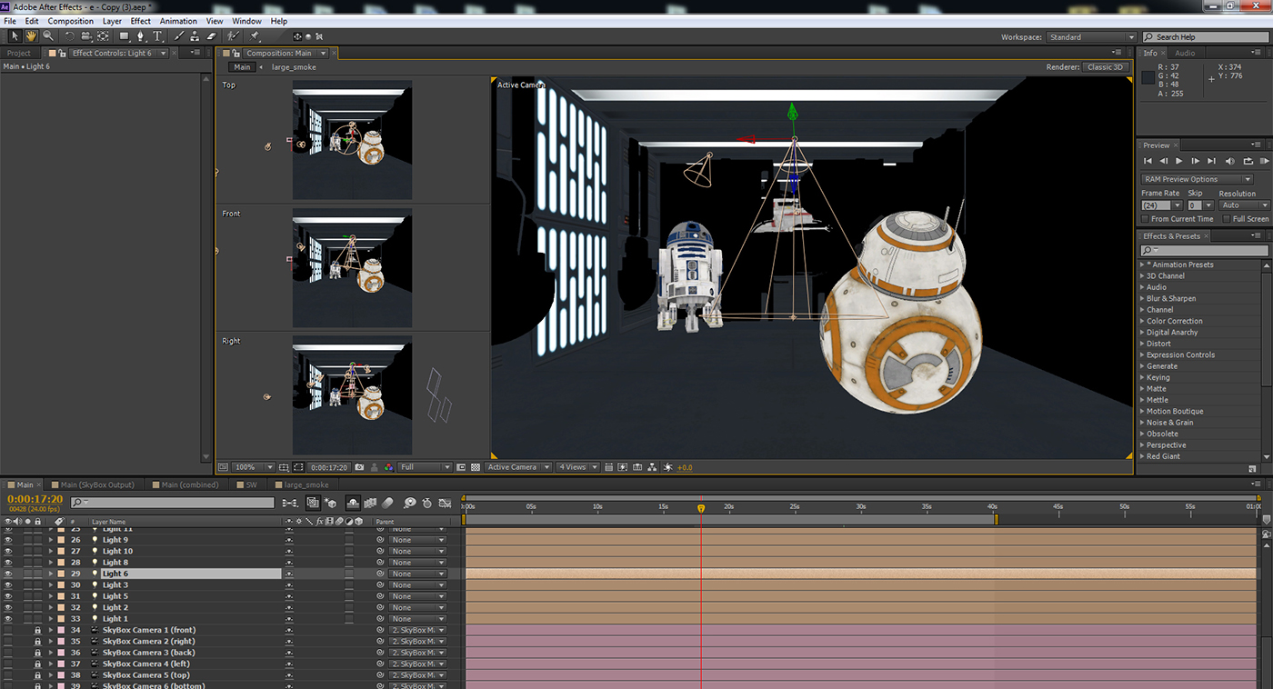 360 176 Star Wars Animated Short 4k After Effects E3d