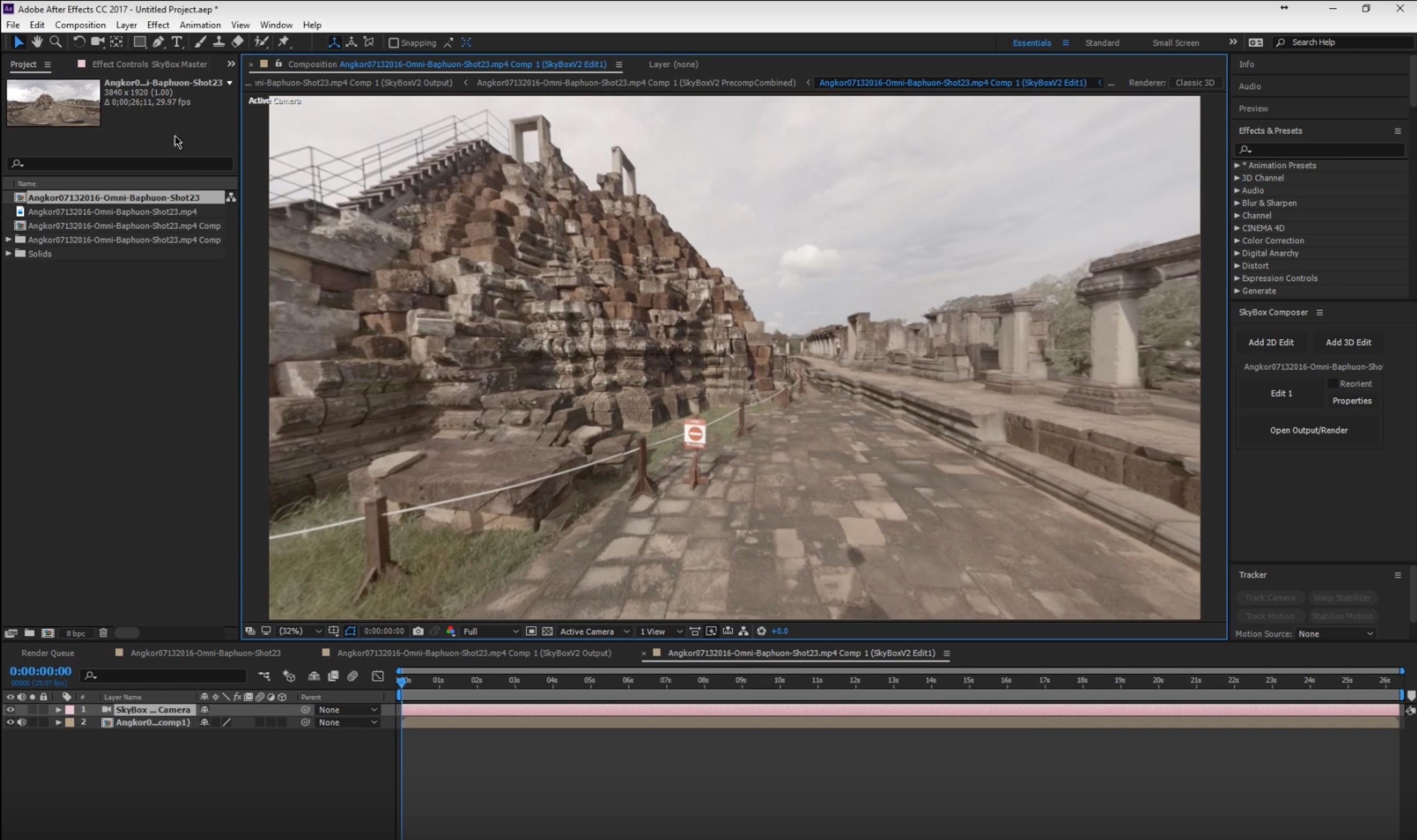 SkyBox Composer Edit Comp