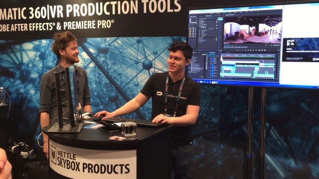 360/VR Workflow in After Effects and Premiere Pro | Connor Hair + Alex Meader | NAB 2016