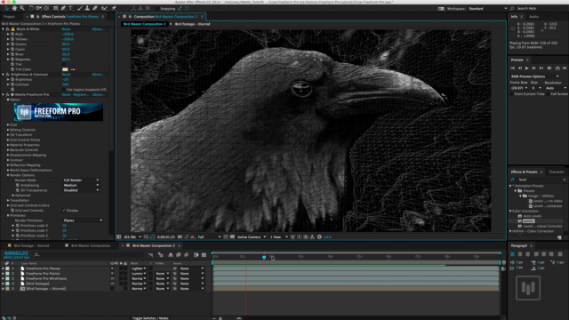 Transform footage into a layered mix of 3d renders after for Habitacion 3d after effects