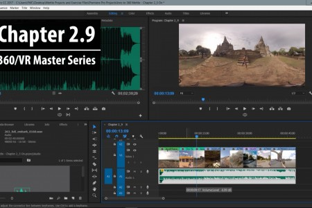 Chapter 2.9: Adding Audio to 360 Video   360/VR Master Series