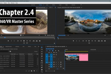 Chapter 2.4: Creating a 360/VR Sequence   360/VR Master Series