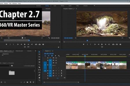 Chapter 2.7: Trimming Basics in Premiere Pro – Part 1   360/VR Master Series