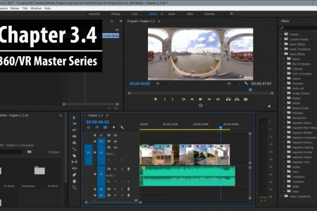 Chapter 3.4: How Post FX Work in Premiere Pro   360/VR Master Series