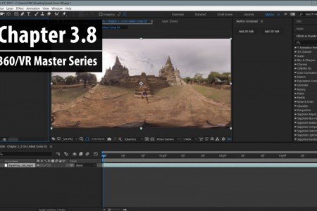 Chapter 3.8: Sending 360/VR Clips Over to After Effects   360/VR Master Series
