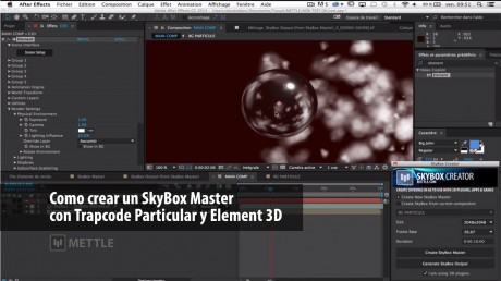 Como crear un SkyBox Master con Trapcode Particular y Element 3D