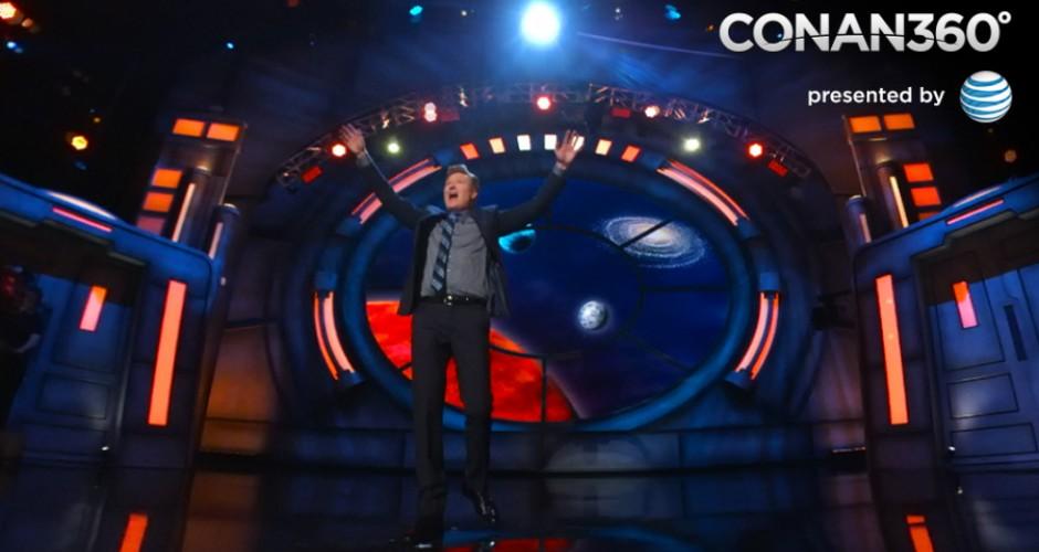 Conan 360 Conan obrien on stage