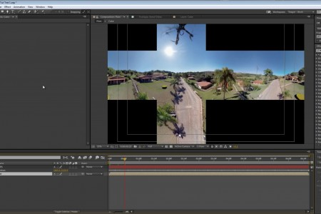 How to Stabilize 360 Drone Footage in After Effects | SkyBox Studio