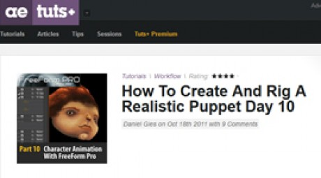 Create and Rig a Realistic Puppet: Day 10