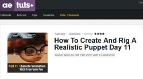 Create and Rig a Realistic Puppet: Day 11