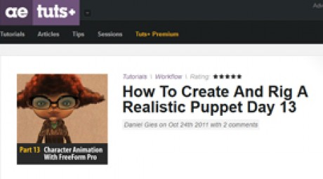 Create and Rig a Realistic Puppet: Day 13