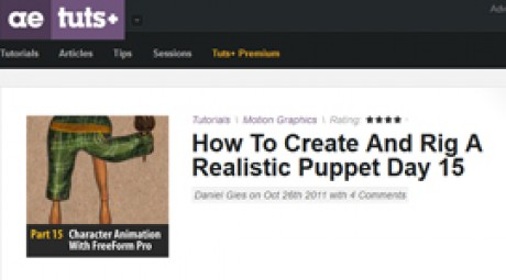 Create and Rig a Realistic Puppet: Day 15