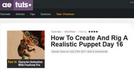 Create and Rig a Realistic Puppet: Day 16