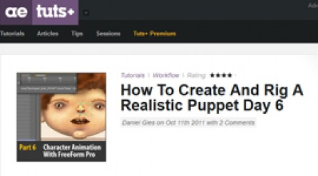 Create and Rig a Realistic Puppet: Day 6