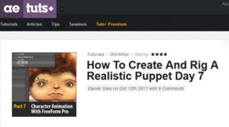 Create and Rig a Realistic Puppet: Day 7