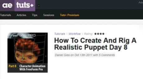 Create and Rig a Realistic Puppet: Day 8
