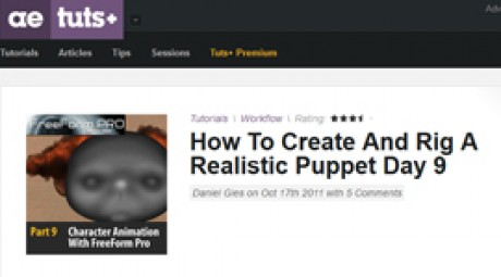 Create and Rig a Realistic Puppet: Day 9