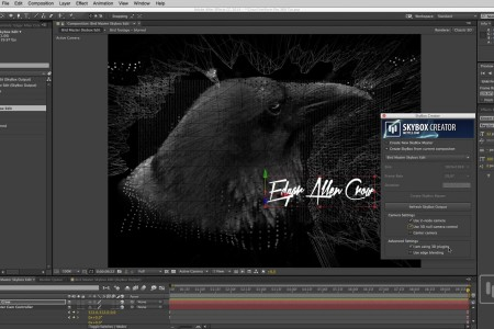 How to Bring an Ae Comp into 360 Format | SkyBox Studio | FreeForm Pro