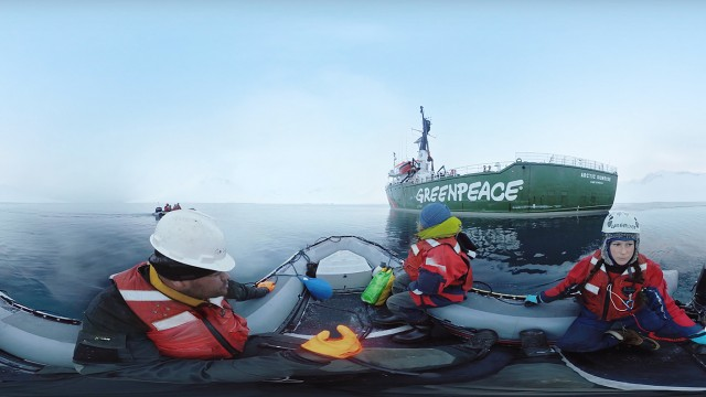 360/VR Journey to the Arctic | Greenpeace