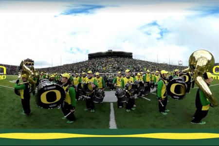 University of Oregon School of Music & Dance Steps Up Their Game in 360 Video