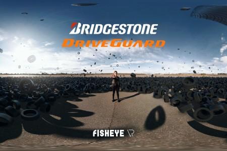 Bridgestone Driveguard 360 Video | FisheyeVR | SkyBox Studio
