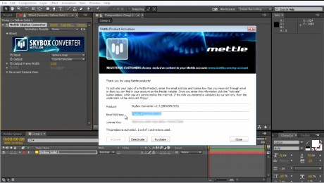 How To Register SkyBox Studio   After Effects