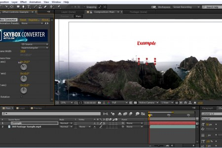 How to Add Text, Logo, and 2D video onto 360° Footage | Intro Level | SkyBox Studio