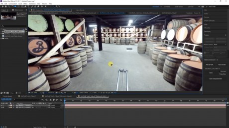 How To Remove a Speed Rail from 360 Footage | SkyBox Studio V2
