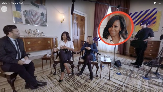 Michelle Obama 360 | SkyBox Studio | Adobe After Effects