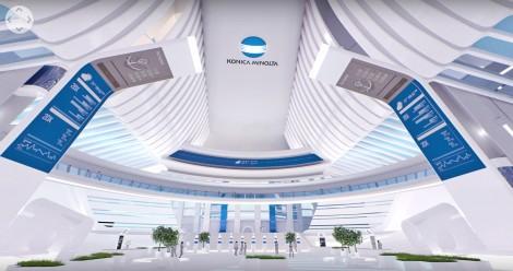 Virtual Reality 360 Degree Movie - Workplace Of The Future - Konica Minolta