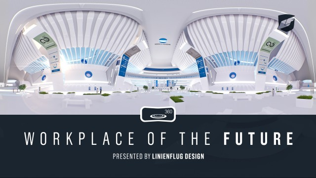 """Workplace of the Future"" VR Experience for Konica Minolta 