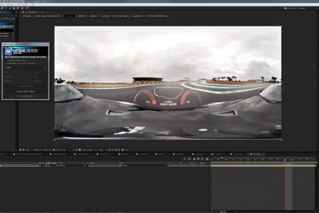 Adobe Creative Suite + Skybox on Nissan Le Mans 360