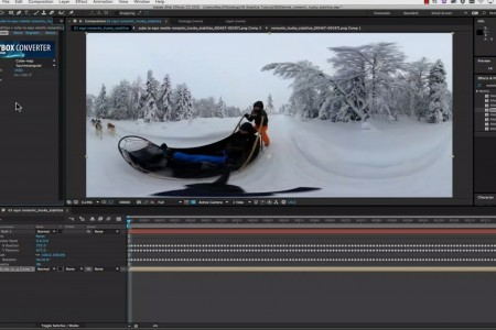 360/VR Horizon Stabilization with Mettle Skybox Studio and Mocha