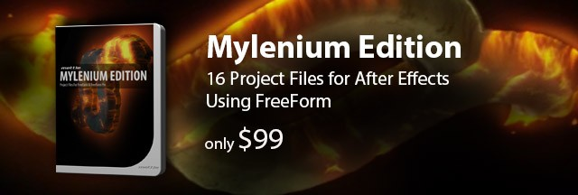 Mylenium - Project Files for After Effects/FreeForm + FreeForm Pro
