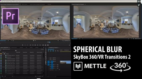 SkyBox 360/VR Transitions 2 | SPHERICAL BLUR