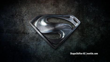 Chrome Logo Superman