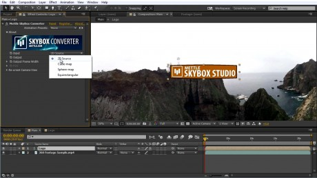 How to Add Text, Logo and 2D Video onto 360 Footage