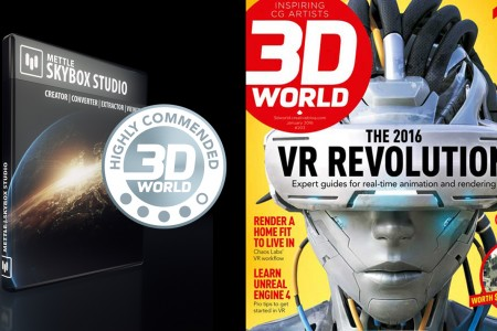 Mettle SkyBox Studio: Highly Commended by 3D World Magazine