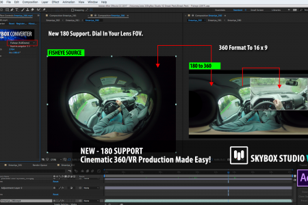 SNEAK PEEK 3 | SkyBox Studio Version 2 | 180° Fisheye Support