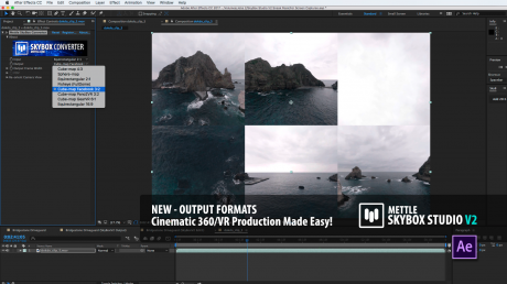 SkyBox Studio Version 2   New 360° Output Formats