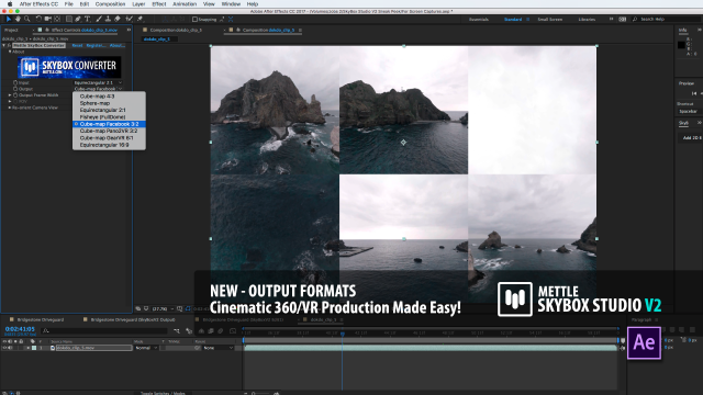 SNEAK PEEK 4 | SkyBox Studio Version 2 | New 360° Output Formats