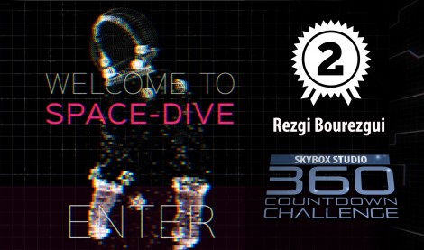 SpaceDive | SkyBox 360 Countdown | 2nd Prize