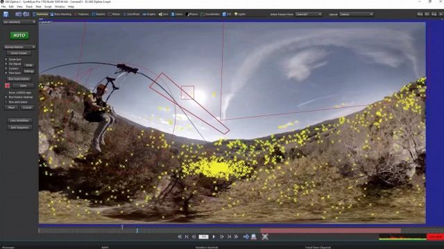 Stabilize 360° Footage with SynthEyes + SkyBox Studio V2