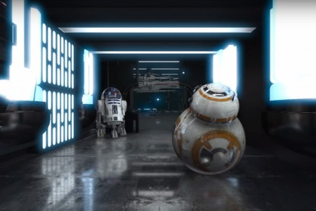 360° STAR WARS Animated Short 4K | After Effects + E3D + SkyBox Studio